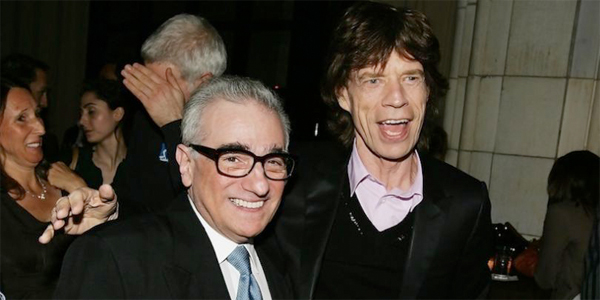 Scorsese et Jagger