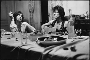 Keith Richards et Mick Jagger © Dominique Tarlé