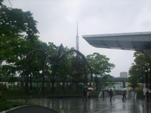 Araignée de Louise Bourgeois à Roppongi Hills - Tokyo
