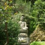 Bouddha et Jardin à Kyoto