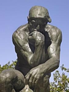 Le Penseur de Rodin / Crédit photo : Musée Rodin