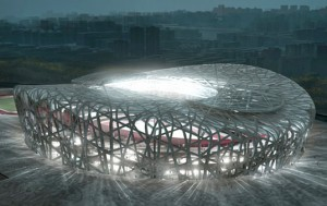 nid d'oiseau stade olympique