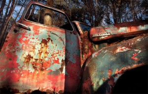 painted truck Claire Bouleau