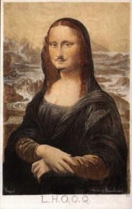 LHOOQ - Marcel Duchamp