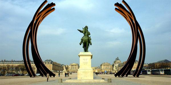 Bernar Venet à Versailles