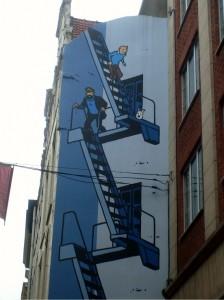 mur bd Bruxelles
