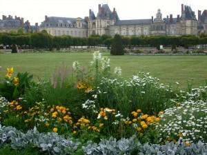 Jardin à la française à Fontainebleau