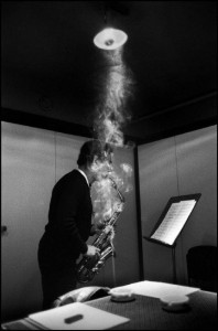 The American Jazz musician - Jimmy Lyons - Copyright : Guy Le Querrec _ Magnum Photos