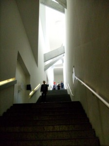Intérieur du Musée Juif