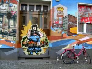 Art de la rue à Berlin