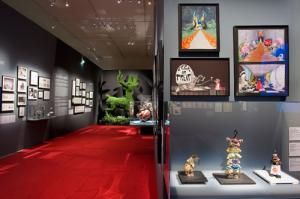 Tim Burton, L'Exposition © Stéphane Dabrowski / La Cinémathèque française.