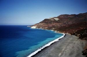 plage nonza Corse
