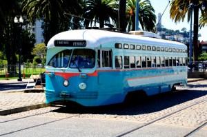 Tramway à SF