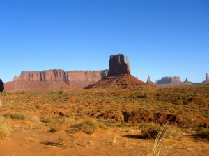 Monument Valley et le John Ford Point - CP : Eliza Lagnier