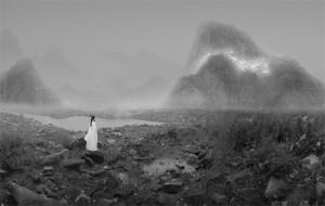 Yang Yongliang - Crocodile and Shotgun, série The Silent Valley