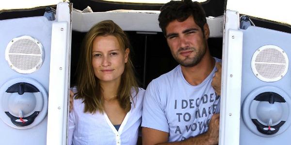 Hortense Le Calvez et Mathieu Grisson