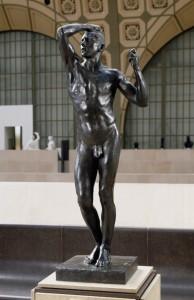L'âge d'Airain - Rodin © Musée d'Orsay