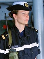 Violaine Bujeau - Lieutenant de la Marine Nationale