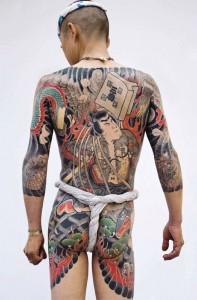 Traditional Japanese Tattoo © Photo by Tatttooinjapan.com - Martin Hladik