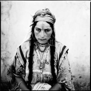 Portrait de femme algérienne - collection de l'artiste © Marc-Garanger