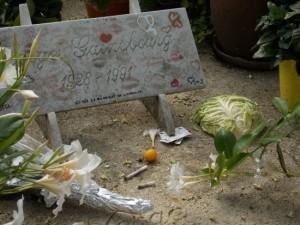 Cimetière du Montparnasse - Tombe de Serge Gainsbourg