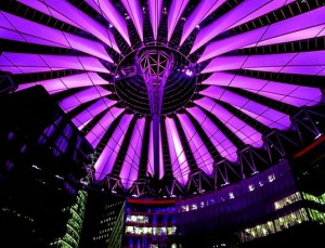 Sony Center Berlin - Light Artist: Yann Kersalé / Architect: Helmut Jahn of Murphy © EasyMalc
