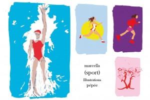 (sport) Marcella & Pépée