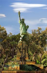 Chris Morin-Eitner-New York Babylon Global Park-Tirage Papier Métallique Kodak contrecollé-150 x 100 cm-2015 © Galerie W