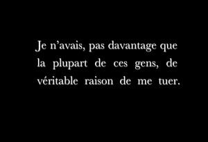 Houellebecq - Rester vivant