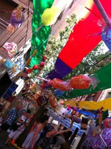 Fête de Gracia à Barcelone